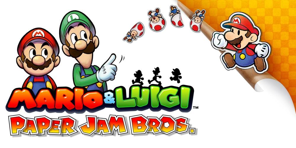 Mario Luigi Paper Jam European Release Date Revealed Box Art