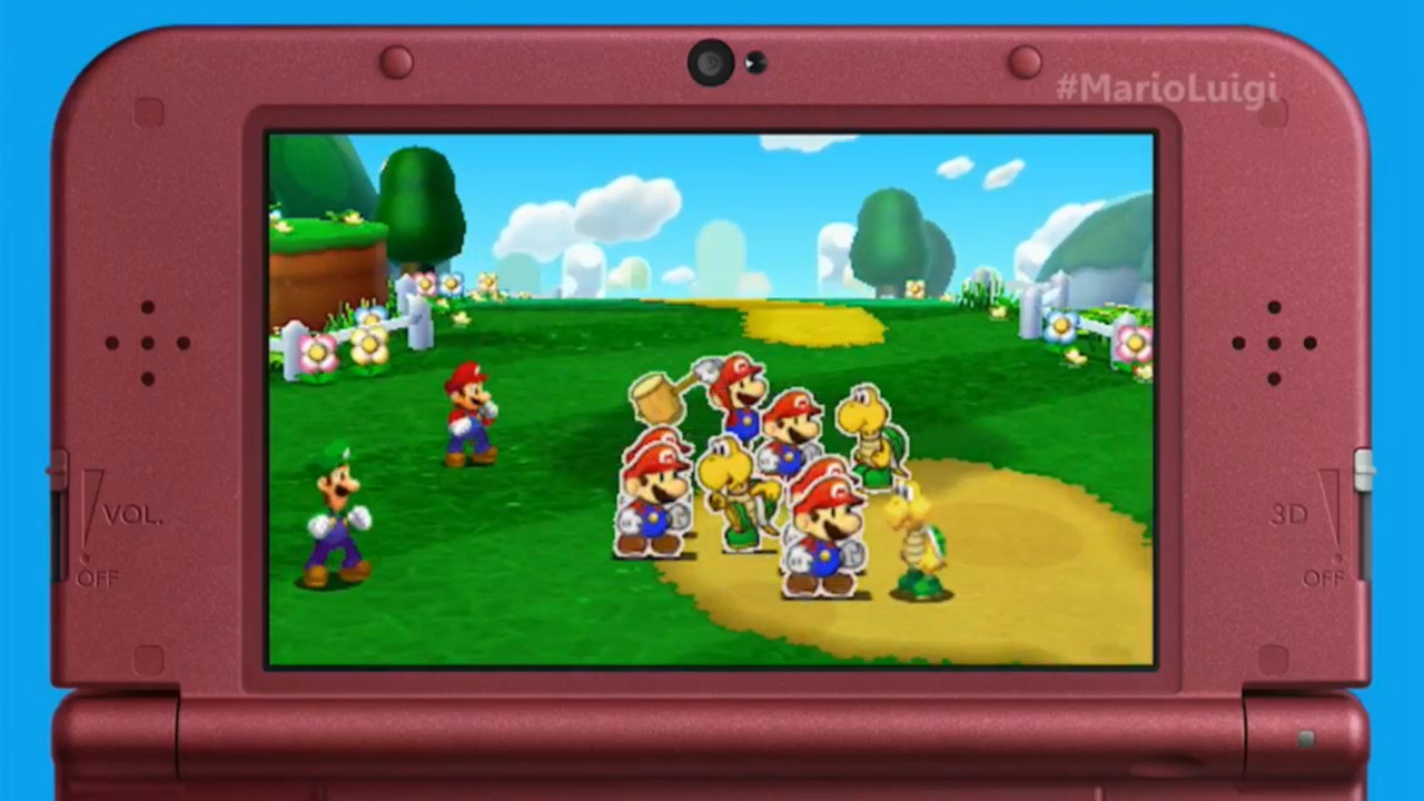 Amiibo Support Confirmed For Mario And Luigi Paper Jam